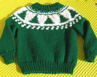 Christmas Tree Ski Sweater