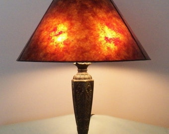 NYM Arts Mica Shade for your Antique Vintage lamp base