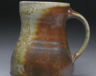 Woodfired 12oz. Stoneware Coffee Mug