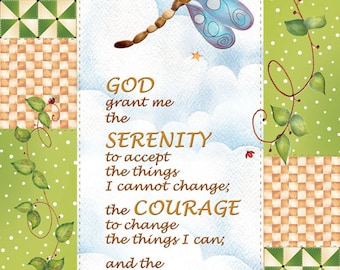 Greeting Card - Serenity Prayer