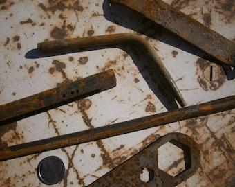 5 Rustic Rusty Items
