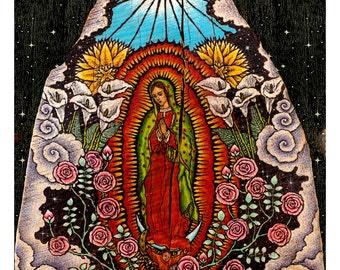 Virgin of Guadalupe Print