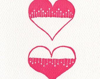 Triumph of Imagination over Intelleigence H.L. Mencken Letterpress Printed Valentine