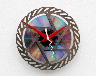 Recycled Bike Brake Disk Clock