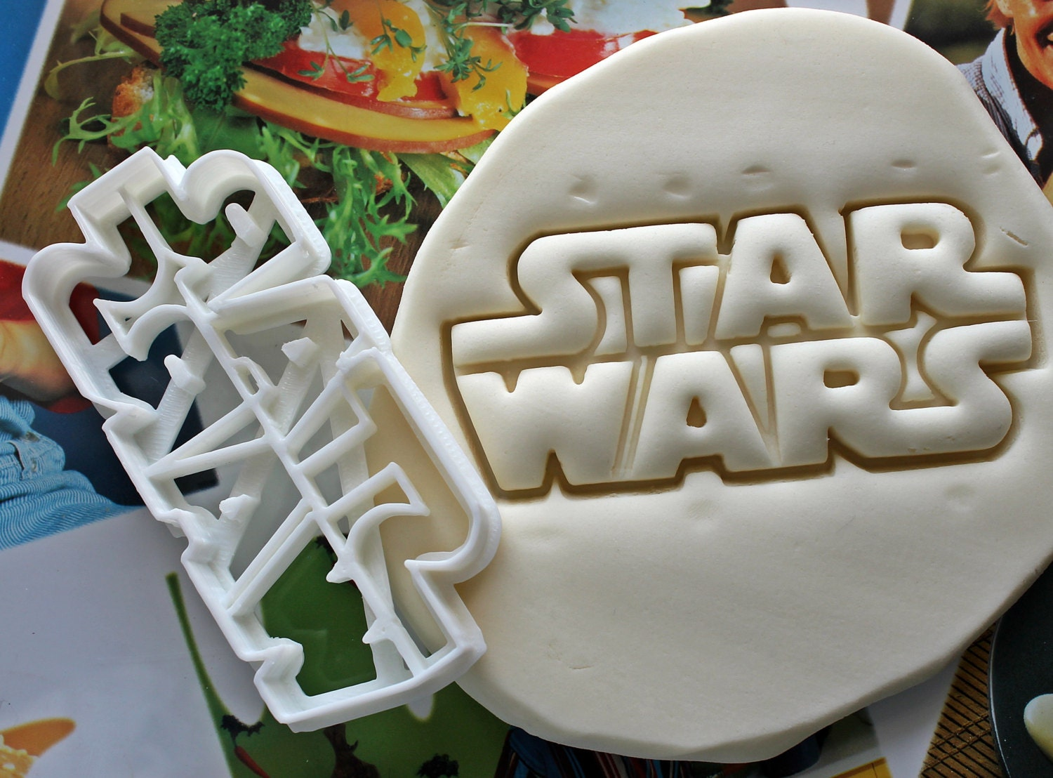 star wars letters cookie cutter made from biodegradable material brand new party favor kids birthday baby shower cake topper