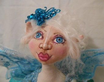 Airabelle, A Cloth Doll by Liz Parent