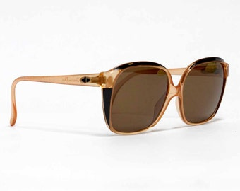 CHRISTIAN DIOR vintage sunglasses, 80s German designer eyewear for women in deadstock condition with new lenses