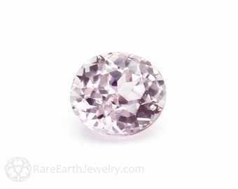 Light Pink Sapphire Gemstone Oval Faceted Loose Stone Natural Sapphire Baby Pink Pale Pink Ceylon