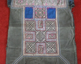 Textiles -  Hmong Baby Carrier/ Hmong / Miao fabric / Hmong embroidery panels - 1045