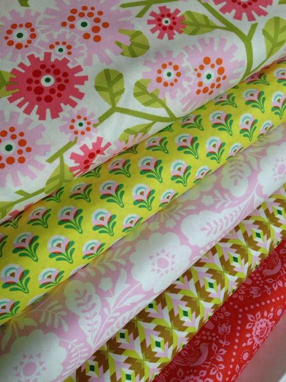 Sale fabric bundle fabric for girl nursery fabric for Nursery fabric sale