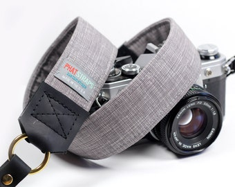 Custom Camera Strap - Retro, Hipster Strap - Crosshatch Camera Strap - Aristocrat