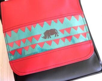 Blue rhino cross body style Messenger bag.