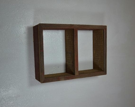 Reclaimed Rustic Style Barn Wood Shadow Box Wall By Barnwood4u