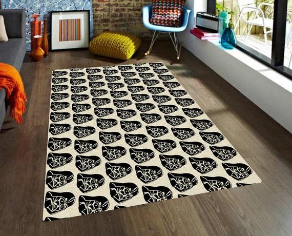 star wars rug darth vader rug rugs carpet modern rug. Black Bedroom Furniture Sets. Home Design Ideas