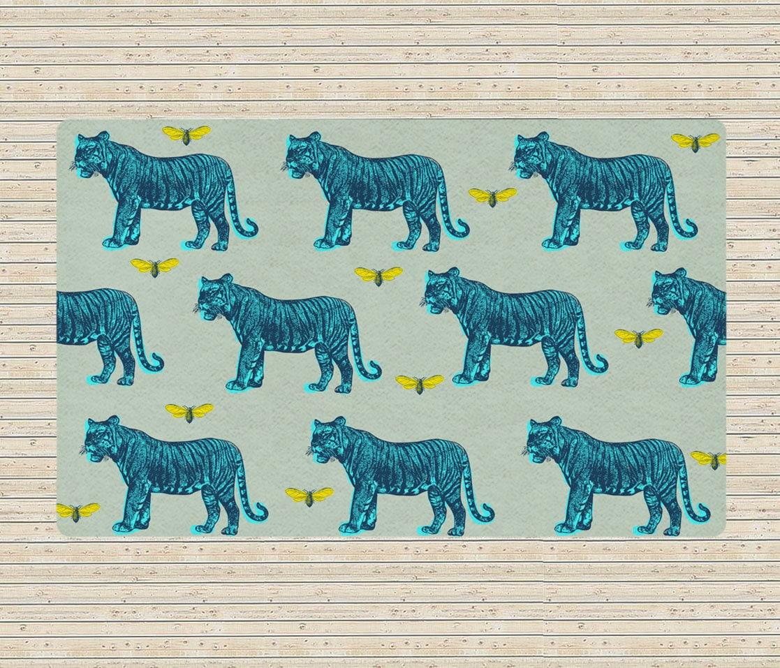 Rug Tigers Rug Modern Rugs Carpet Vintage Animals By