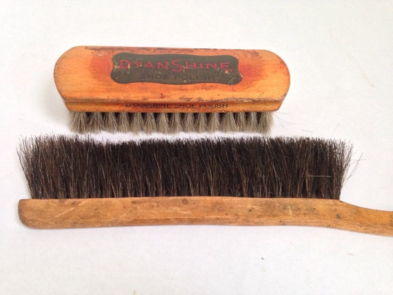 Two Vintage Brushes / Horsehair Antique Brushes ...