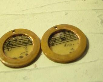 Resin  Music Charms