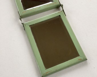 Trifold Beveled Glass Mirror