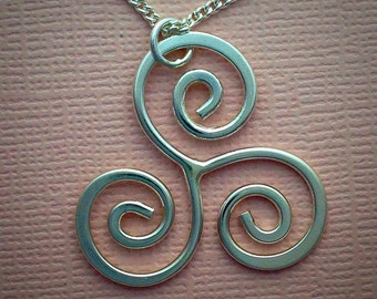 Three Scroll Pendant