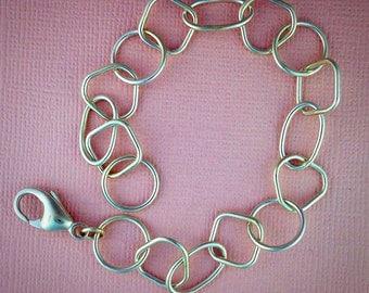 Geometric sterling Silver Bracelet