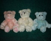 Wax Dipped Scented Bear Air Room Freshener You Pick Color And Scent