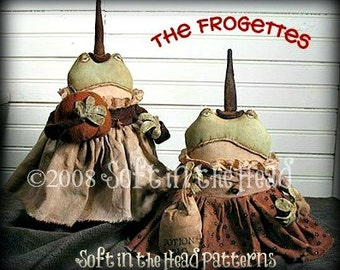 Frogette Witch E-Pattern