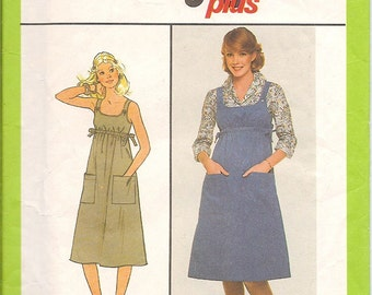 Simplicity 8573 Womens Jumper Pattern Size 10