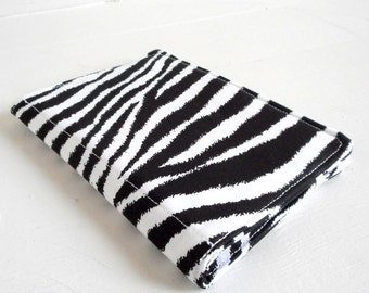 mini list coupon organizer memo pad holder zebra animal print