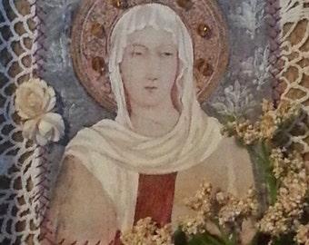 Saint Clare shrine