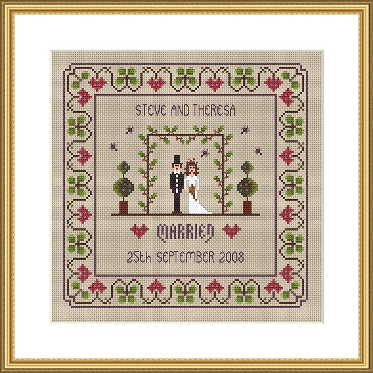 Wedding - Cross Stitch Patterns & Kits