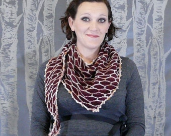 KNITTING PATTERN- Lapidary Shawl PDF Download