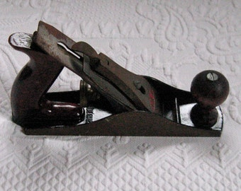 Metal Plane . carpenter plane . Dunlap - Carpentry Tool . Dunlap carpenter plane