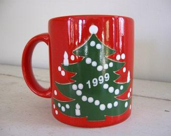 Waechtersbach Christmas Tree Mug 1999 1 of 8 Available
