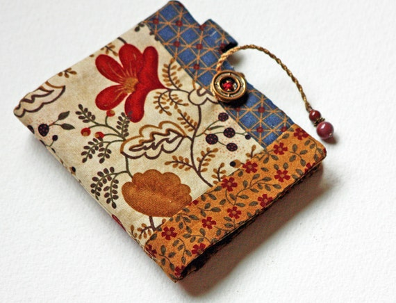 Book Cover Sewing Kits : Handmade needle book sewing kit quilted keep with
