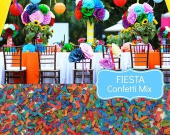 fiesta wedding confetti biodegradable chic wedding decoration scatters confetti mexican wedding
