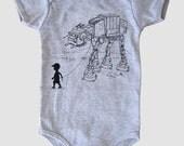 My Star Wars AT-AT Pet - Baby Boy or Girl Onesie Bodysuit (Star Wars Baby Boy)