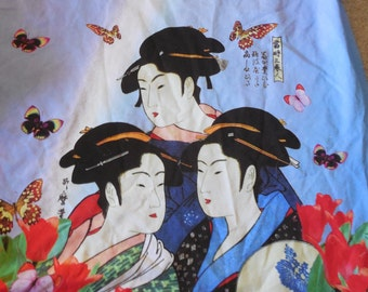 Lycra Japanese fabric panel