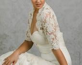 Rachel | French Lace Wedding Bolero
