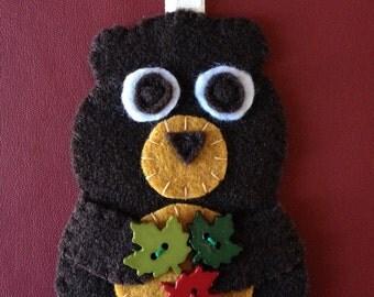 brown bear felty