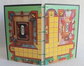 Clue Journal Recycled Game Board Book by PrairiePeasant