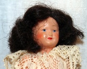 Petitcollin Tiny Doll Made in France - Celluloid - French