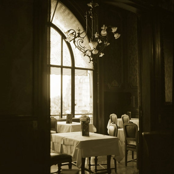 Le Train Bleu Dining Room Paris  Archival Print