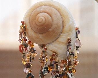 Caramel Swirl Shell