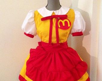 Loli's McDonalds Uniform