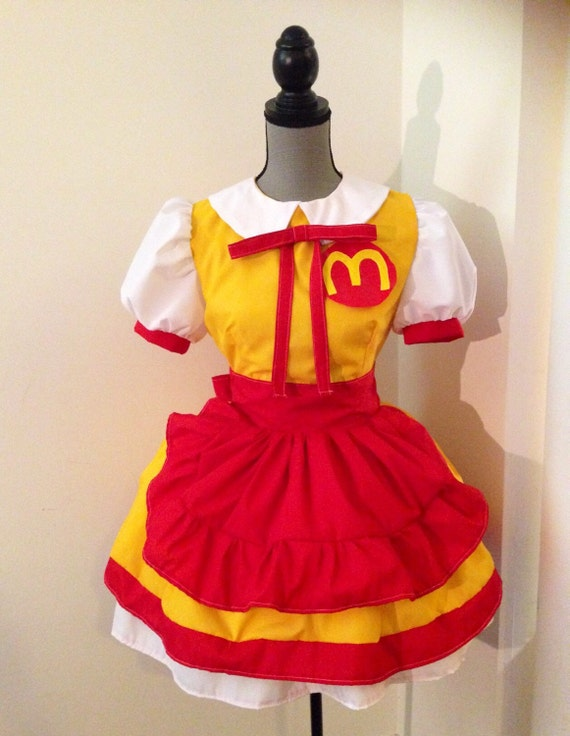 Womens Ronald McDonald Costume