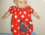 Bitty Baby Minnie Mouse Peasant Dress