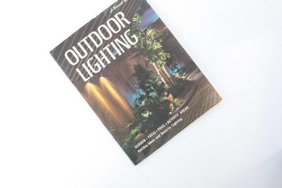 Landscape Lighting Book : Vintage mid century outdoor lighting design by