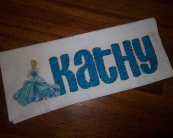 "Disney ""Cinderella"" themed Personalized Pillowcase"