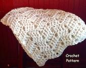 Baby Blanket Pattern Little Su - Easy DIY baby shower gift