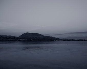 Lake View, Okanagan Lake, Canada, British Columbia, Art photography, Landscape, Home Decor, Wall art